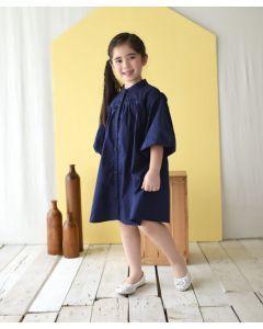 Piccola Calla Dress Navy