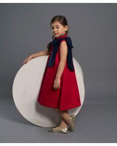 Piccola Alena Dress Red