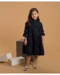 Feather n Flynn Tiera Shirt Dress Navy