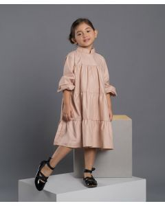 Feather n Flynn Tiera Shirt Dress Nude