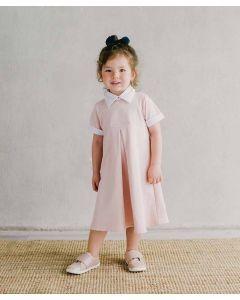 Piccola Annika Collared Dress Baby Pink