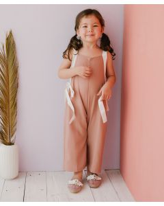 Piccola Lexie Jumpsuit Dusty Pink