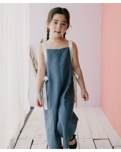 Piccola Lexie Jumpsuit Gray Blue