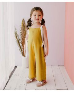 Piccola Lexie Jumpsuit Mustard