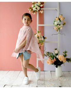 Feather & Flynn Luisa Cape Pink
