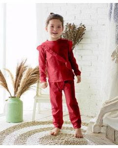 Takoyakids Rin Pyjamas Maroon