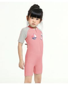 Lee Vierra Kids Nautical Boat Diving Baju Renang Anak Pink