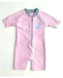 Lee Vierra Kids Anchor Diving, Baju Renang Anak Unisex - Ungu
